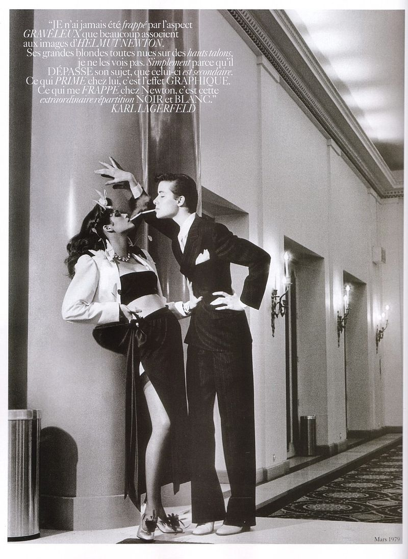 Gia by Helmut Newton