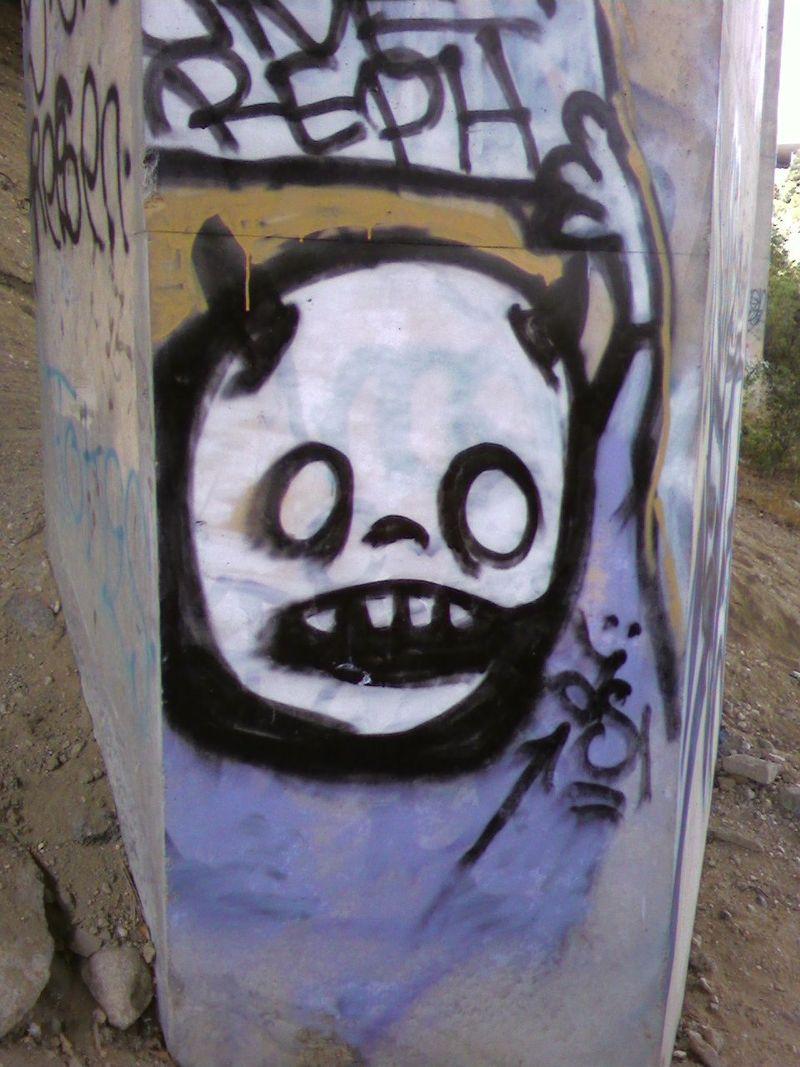 Street painting- demon 1